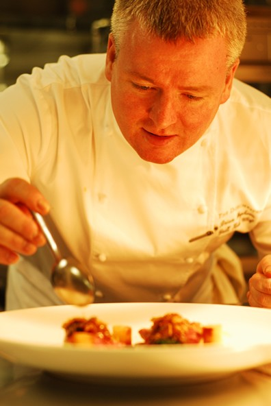 Chef Brian Hughson-The Dorchester Grill
