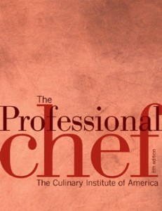 Culinary Institute Of America – The Professional Chef