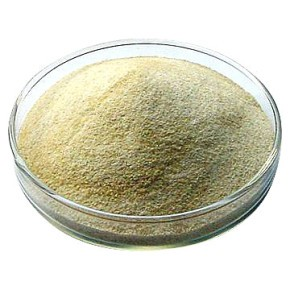 Alginate, or alginic acid, is extracted from brown algae and most commonly available as a sodium salt.