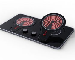 Portable Burner With Removable Hotplates