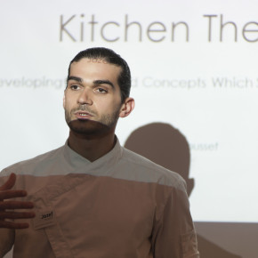 Jozef Youssef, Kitchen Theory seminar, Maida Hill Place.