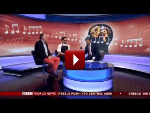 Video – BBC World News Professor Charles Spence & Chef Jozef Youssef On The Taste Of Colour
