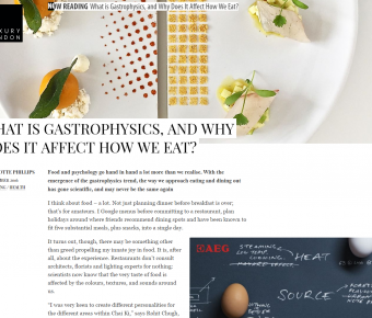 Luxury London – What Is Gastrophysics, And Why Does It Affect How We Eat?